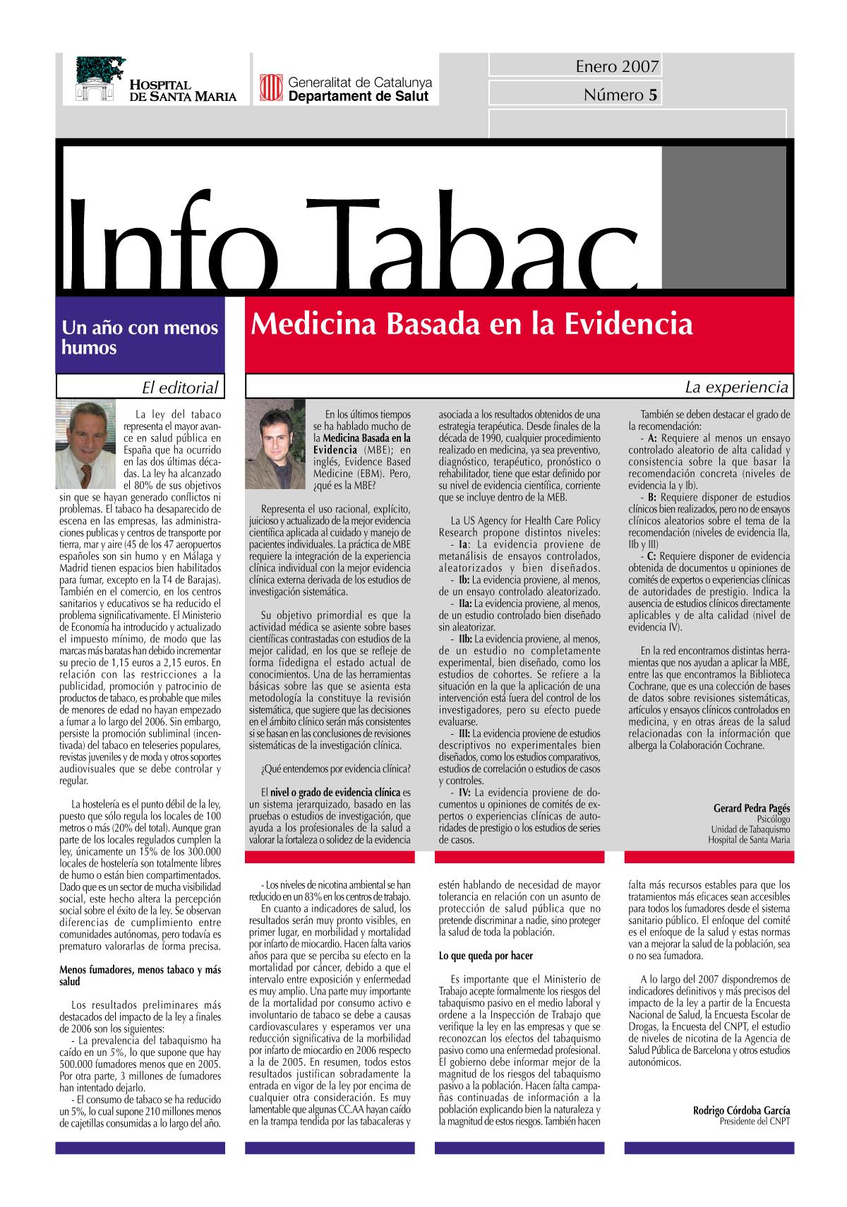 Info Tabac nº5 - Enero 2007