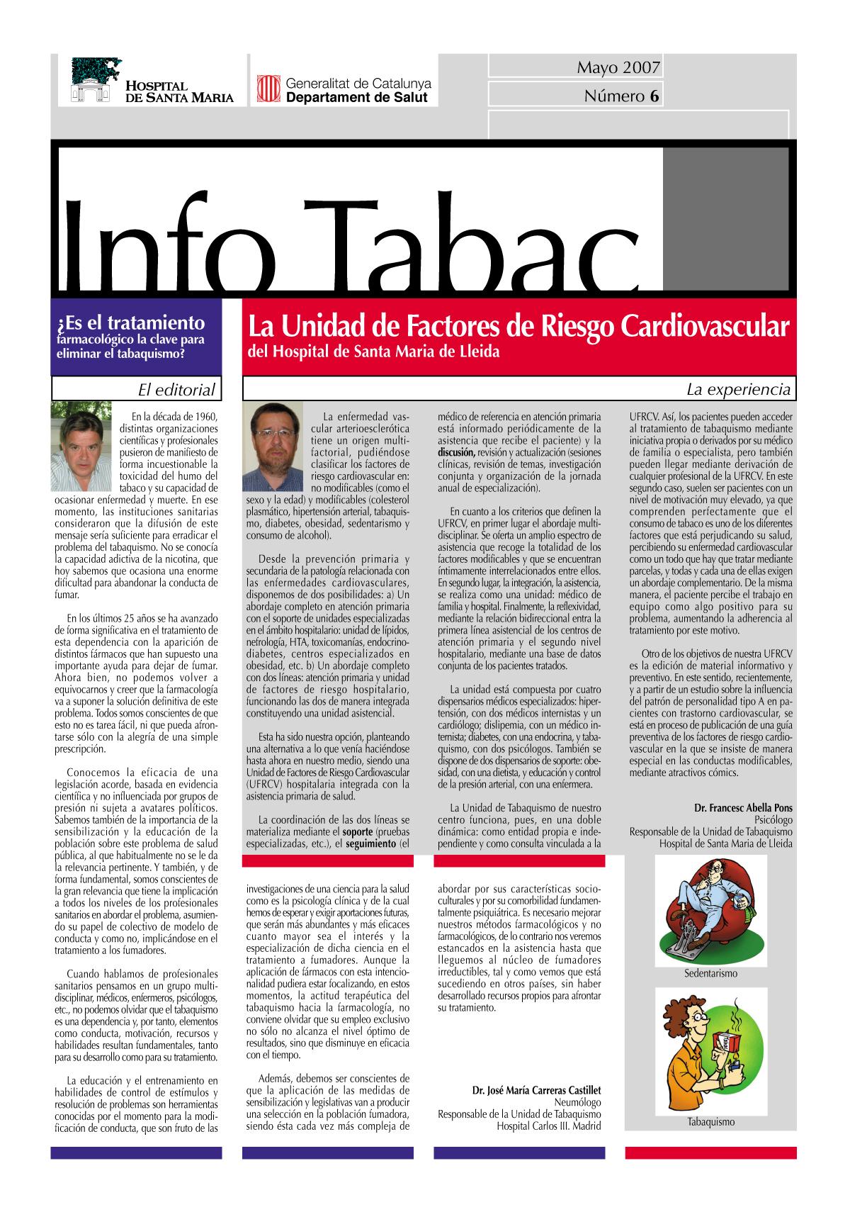 Info Tabac nº6 - Mayo 2007