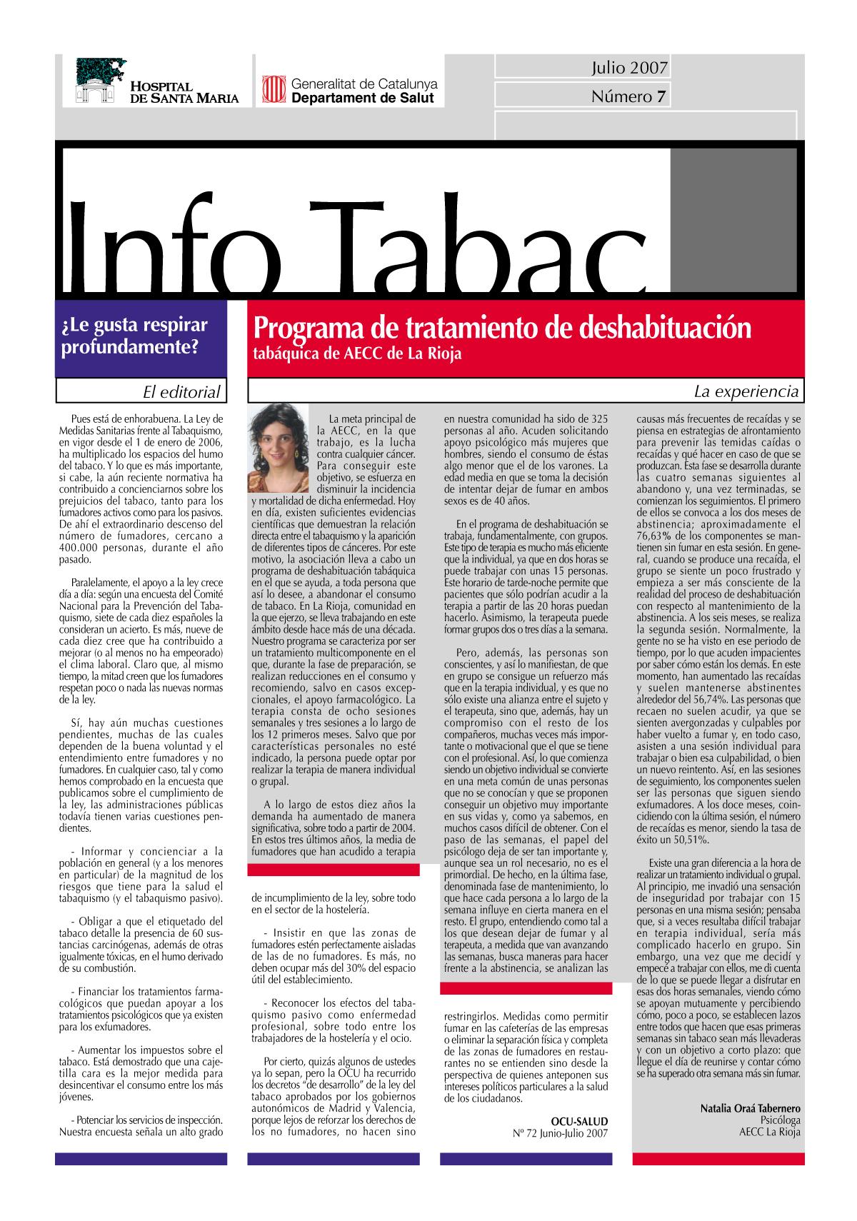Info Tabac nº7 - Julio 2007