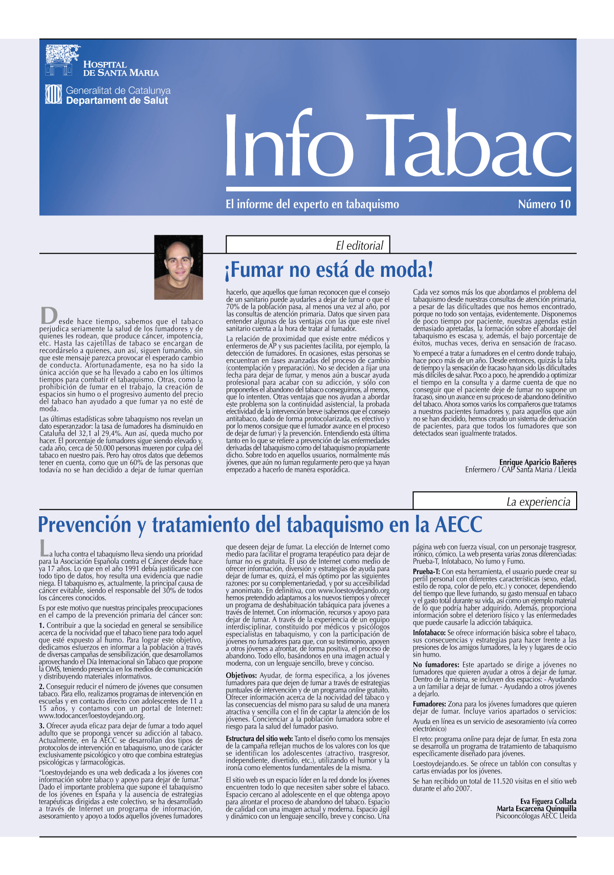 Info Tabac nº10 - Mayo 2008