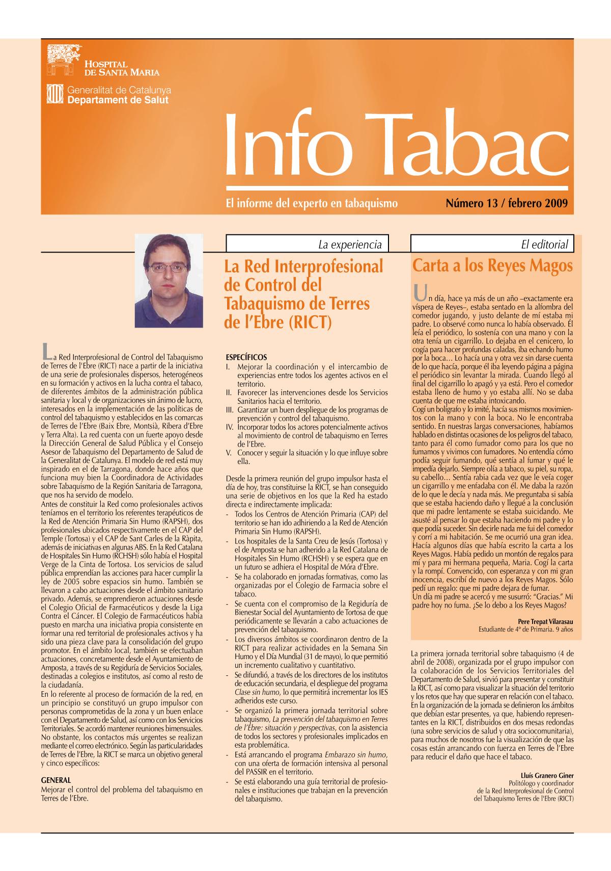 Info Tabac nº13 - Febrero 2009