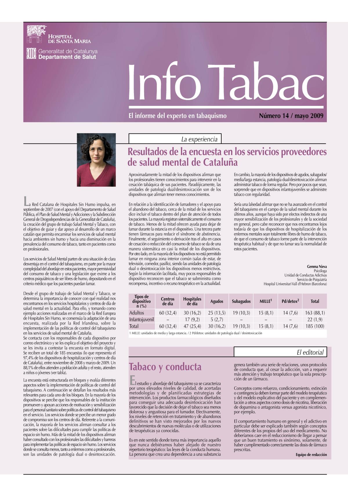 Info Tabac nº14 - Mayo 2009