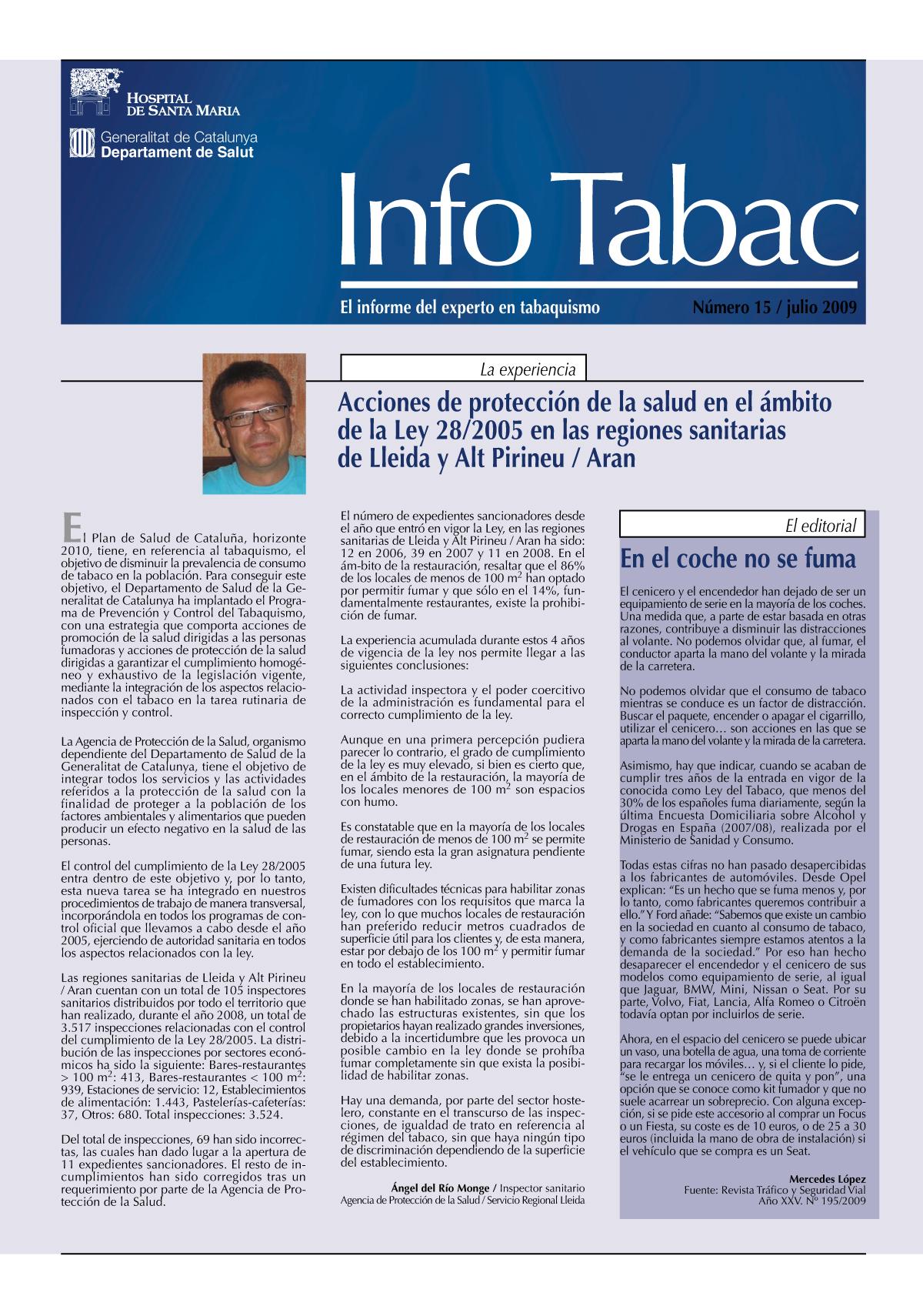 Info Tabac nº15 - Julio 2009