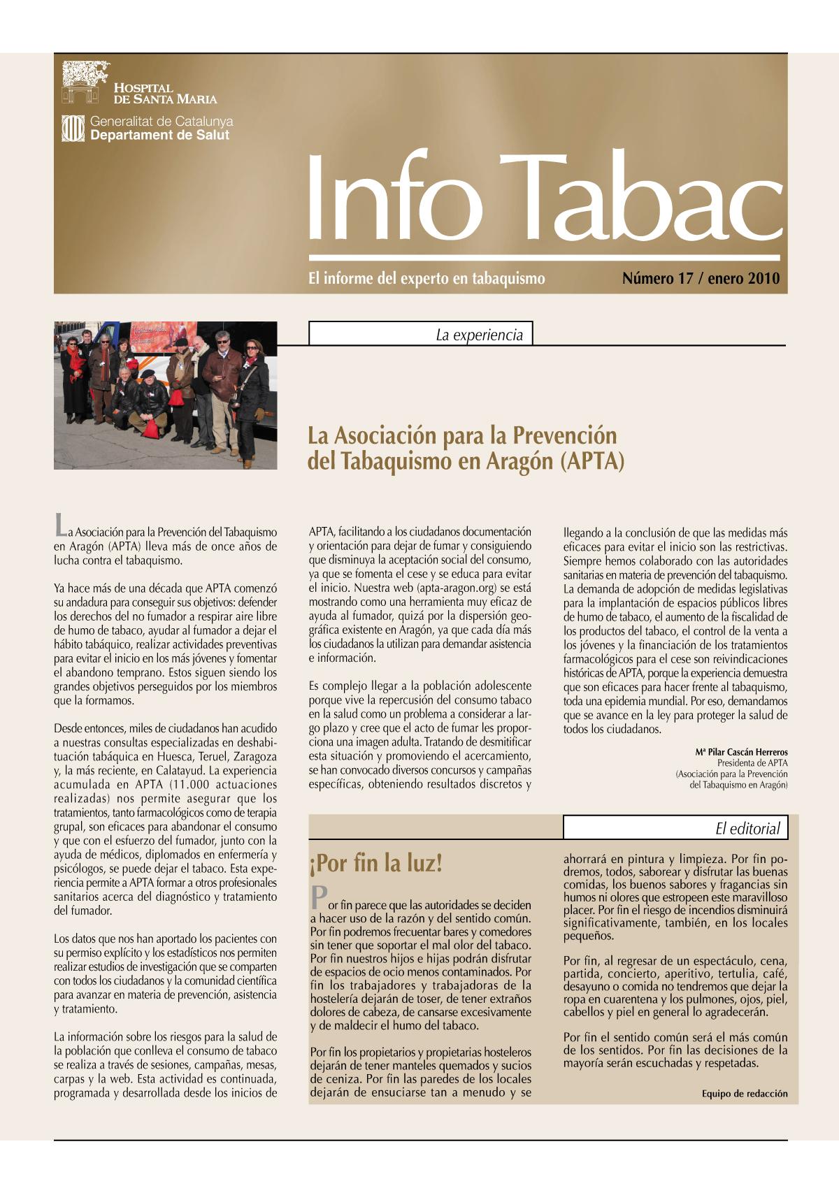 Info Tabac nº17 - Enero 2010