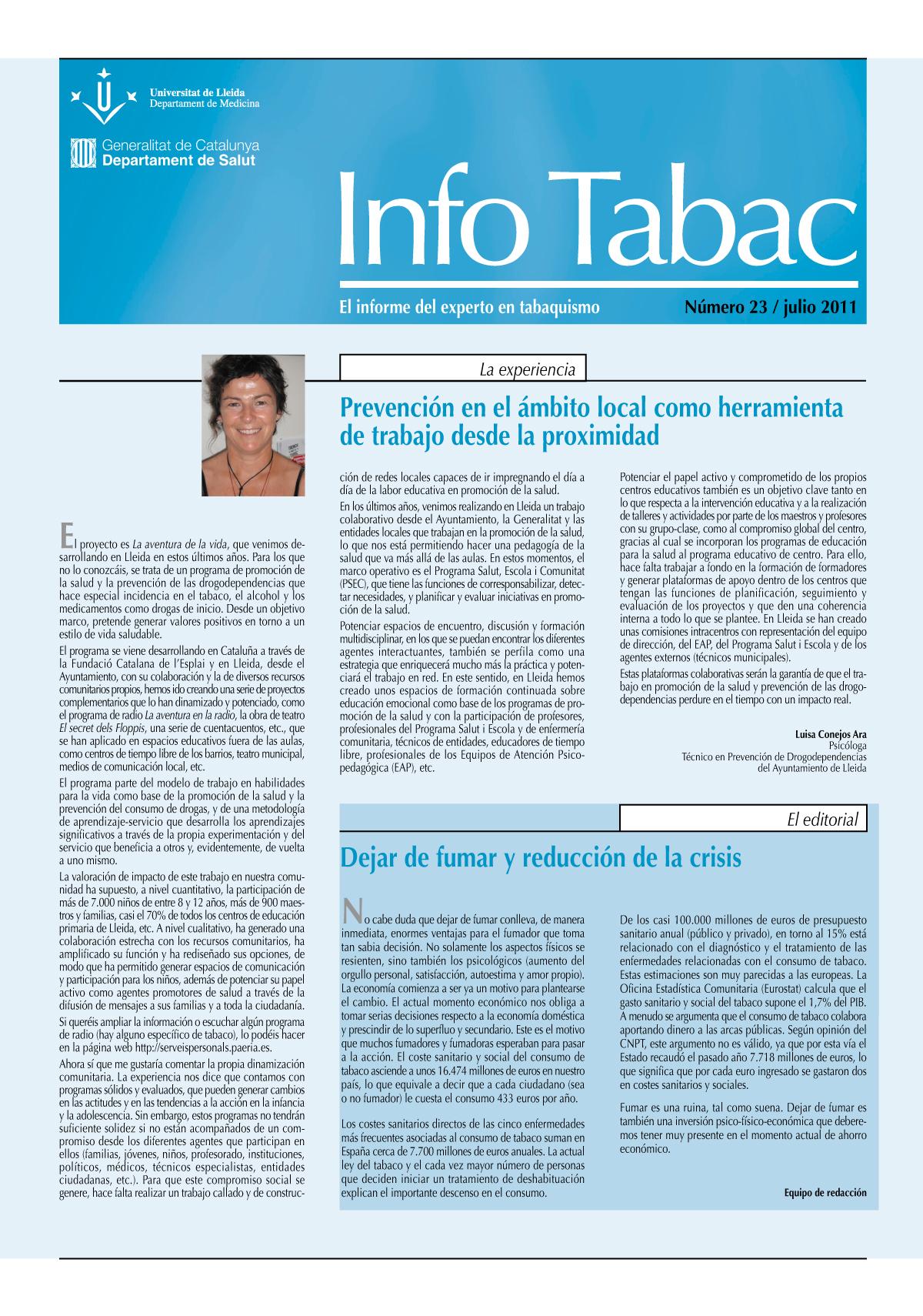 Info Tabac nº23 - Julio 2011