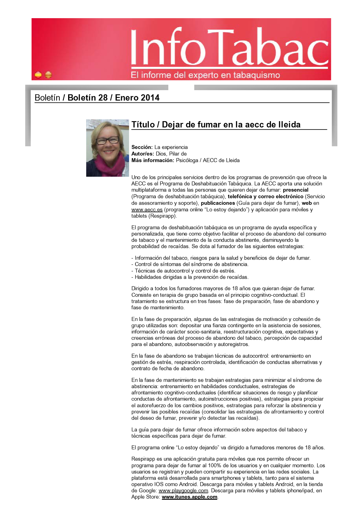 Info tabac digital nº28 - Enero 2014
